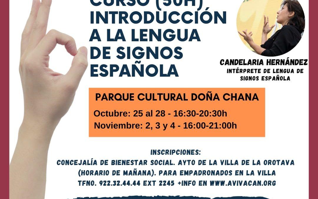 """Nuevo Curso: """"Introducción a la Lengua de Signos Española"""""""