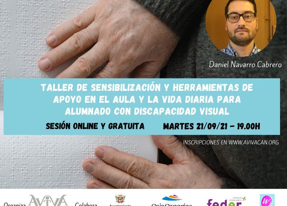 Nuevo Taller: Sensibilización discapacidad visual